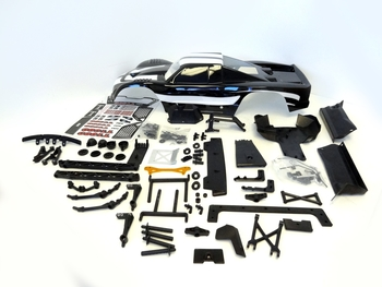 5B to 5T Truck Conversion Kit & Body (black)
