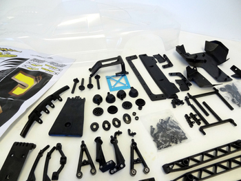 5B to 5T Truck Conversion Kit & Body (clear)
