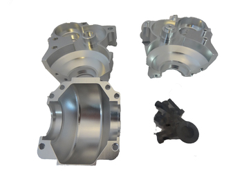 Aluminum 3 piece Transmission (silver)