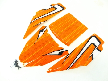 Panel Kit for C1 Storm Roll Cage (orange)