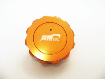 Aluminum Gas Cap (orange) For KM Baja and X2