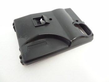 Black Plastic Radio Box Cover