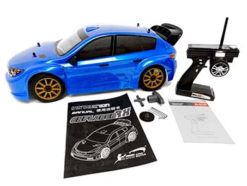 1/7 Scale RTR 4WD Electric Explorer RX2 V2 Rally Car (blue)