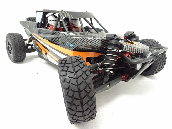 1/8 Scale King Motor Explorer 1 4X4 Buggy HPI Apache C1 FLUX Compatible (NO Battery)